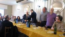 Homenaje del Orfeón Lucense a Xesús Mato en Portomarín y Paradela