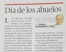 Día de los abuelos (Ángel Fernández López)